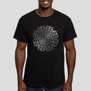 Enterprise Art Silver Men's Fitted T-Shirt (dark)
