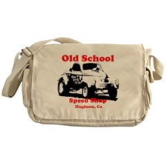 AFTMOldSchoolSpeedShopRB.jpg Messenger Bag