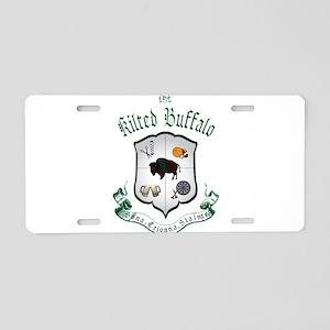 TKB logo Aluminum License Plate