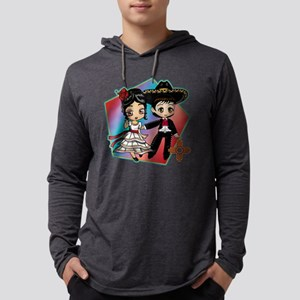 FIESTA DANCERS Mens Hooded Shirt