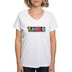 MAAFS_logo Women's V-Neck T-Shirt