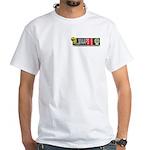 MAAFS_logo White T-Shirt