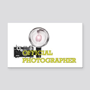 Official Photographer-2 Rectangle Car Magnet