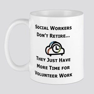 Social Work Retirement Mug