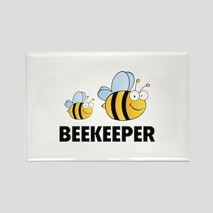 Beekeeper Rectangle Magnet