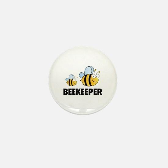 Beekeeper Mini Button