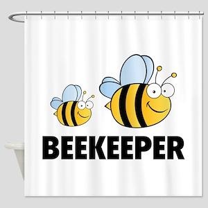 Beekeeper Shower Curtain
