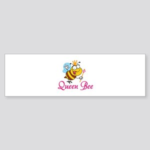 Queen Bee Sticker (Bumper)