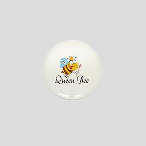 Queen Bee Mini Button