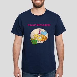 Happy Birthday Dark T-Shirt