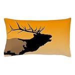 Sunset Bugling Elk Pillow Case
