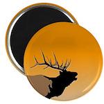 Sunset Bugling Elk Magnet