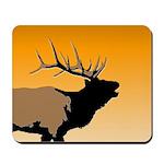 Sunset Bugling Elk Mousepad