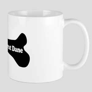 I Love My Great Dane - Dog Bone Mug