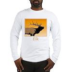 Sunset Bugling Elk Long Sleeve T-Shirt