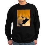 Sunset Bugling Elk Sweatshirt (dark)