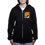 Sunset Bugling Elk Women's Zip Hoodie