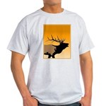 Sunset Bugling Elk Light T-Shirt