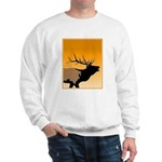 Sunset Bugling Elk Sweatshirt
