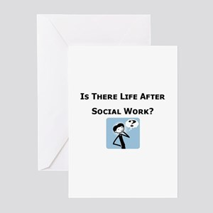 Is There Life After Social Wo Greeting Cards (Pack