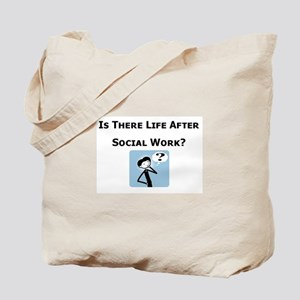 Is There Life After Social Wo Tote Bag