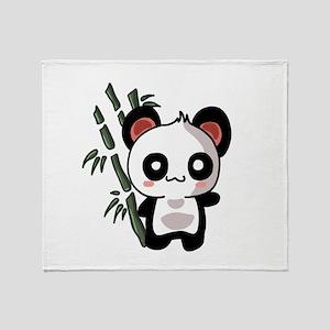 Panda Bambu Throw Blanket