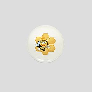 Bee Mini Button