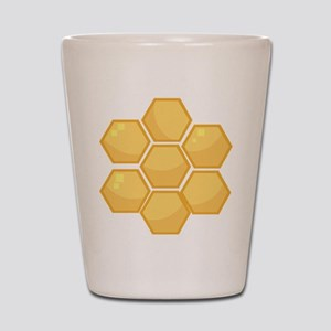 Honeycomb Shot Glass