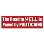 Road to Hell Bumper Sticker
