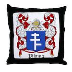 Pilawa Coat of Arms Throw Pillow