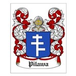 Pilawa Coat of Arms Small Poster