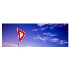 Yield Sign Poster