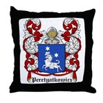 Peretyatkowicz Coat of Arms Throw Pillow
