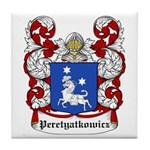 Peretyatkowicz Coat of Arms Tile Coaster