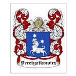 Peretyatkowicz Coat of Arms Small Poster