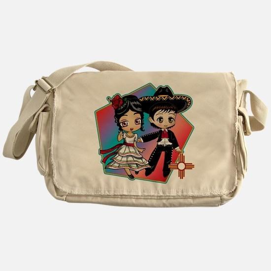 FIESTA DANCERS Messenger Bag