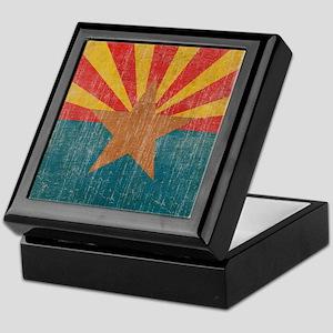 Vintage Arizona Keepsake Box