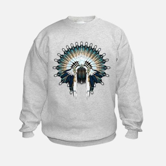 Native War Bonnet 02 Sweatshirt