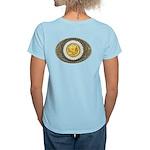 Indian gold oval 3 Women's Light T-Shirt