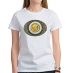 Indian gold oval 3 Women's T-Shirt