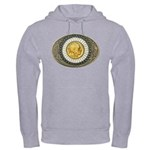 Indian gold oval 3 Hooded Sweatshirt