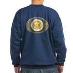 Indian gold oval 3 Sweatshirt (dark)