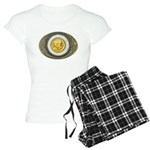 Indian gold oval 3 Women's Light Pajamas