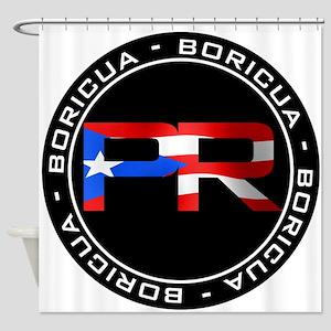PR BORICUA Shower Curtain