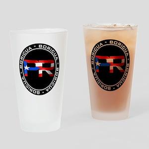 PR BORICUA Drinking Glass