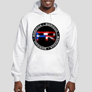 PR BORICUA Hooded Sweatshirt