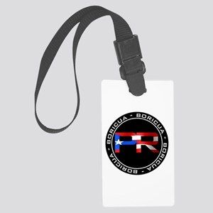 PR BORICUA Large Luggage Tag