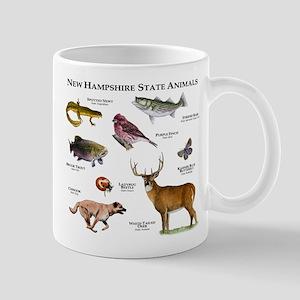 New Hampshire State Animals Mug