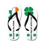 Proud to be Irish Flip Flops