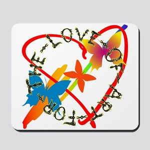 For The Love Of Art Mousepad